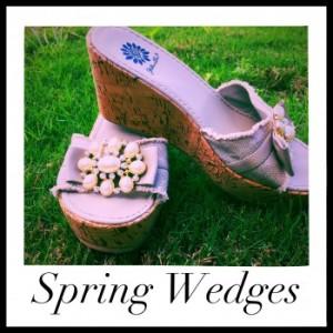 spring/summer wedges