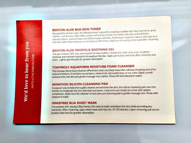 3B information card