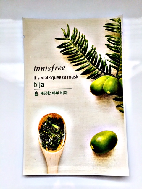 Innisfree Bija Sheet Mask