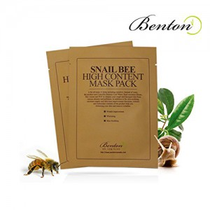 Benton snail bee mask pack